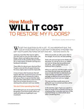 How Much Will It Cost PDF