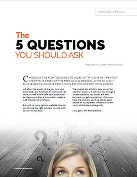 The 5 Questions PDF