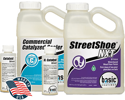 commercial sealer and Streetshoe