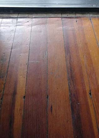 Collingswood NJ hardwood floor before