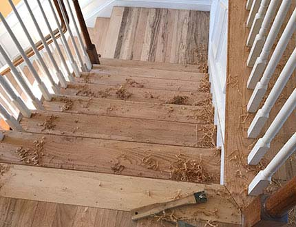 scraping stairs in South Jersey